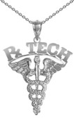 RxTECH necklace for pharmacy technicians pinning ceremony graduation jewelry and gifts. Awesome class discounts, gift boxes and fast shipping included
