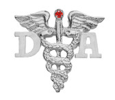 Dental Assistant pins for pinning ceremony graduations. This DA veterinarian graduation pin is the perfect gift of fine jewelry.