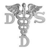 Doctor of dental surgery DDS dentist pins for pinning ceremony graduation.  These DDS graduation pins are beautifully gift boxed and shipped fast.