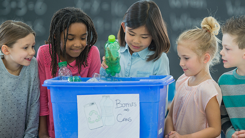 How to Start a School Recycling Program