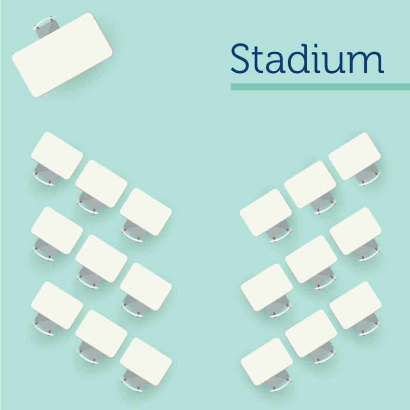Stadium Seating Arrangement