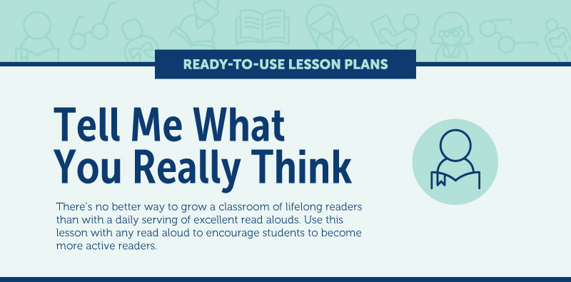 Read Alouds Lesson Plan