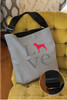 Love Boxer Adjustable Tote Bag