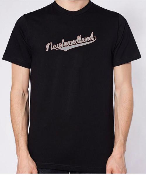 Righteous Hound - Unisex Varsity Newfoundland T-Shirt