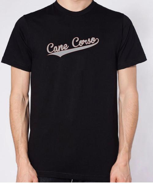 Righteous Hound - Unisex Varsity Cane Corso T-Shirt