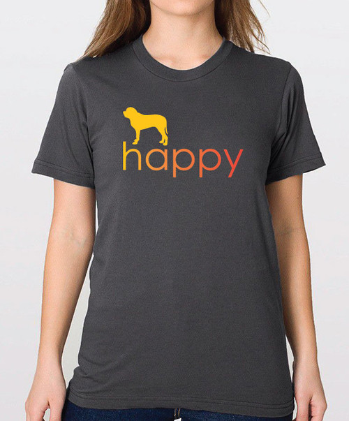 Righteous Hound - Unisex Happy Mastiff T-Shirt