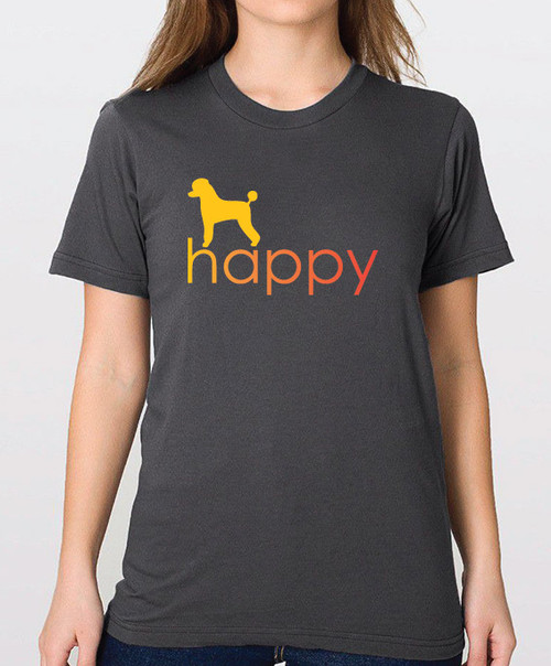 Righteous Hound - Unisex Happy Poodle T-Shirt