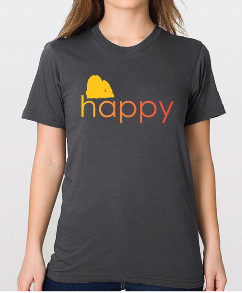 Righteous Hound - Unisex Happy Maltese T-Shirt