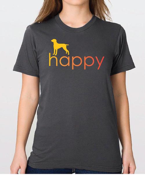 Righteous Hound - Unisex Happy Weimaraner T-Shirt