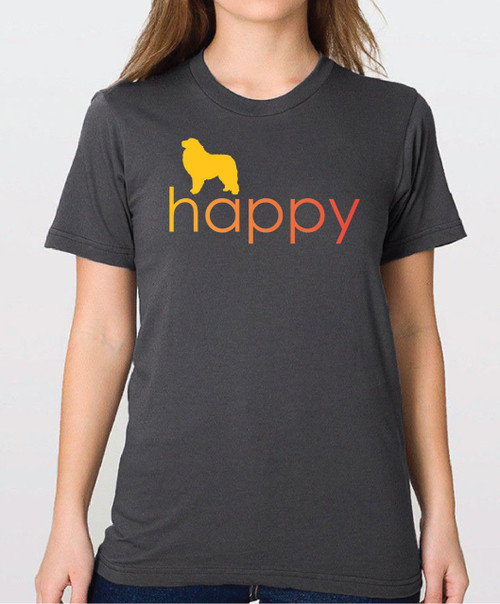 Righteous Hound - Unisex Happy Great Pyrenees T-Shirt