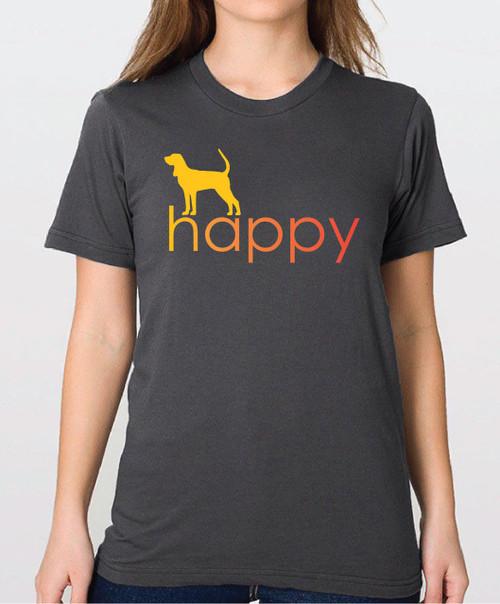 Righteous Hound - Unisex Happy Coonhound T-Shirt