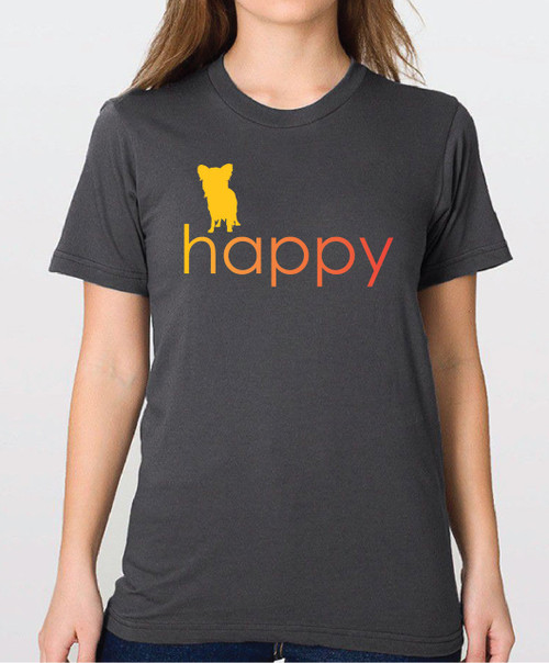 Righteous Hound - Unisex Happy Papillon T-Shirt