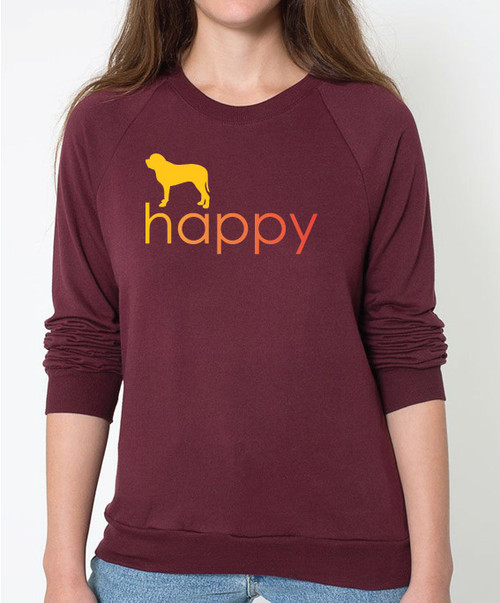 Righteous Hound - Unisex Happy Mastiff Sweatshirt