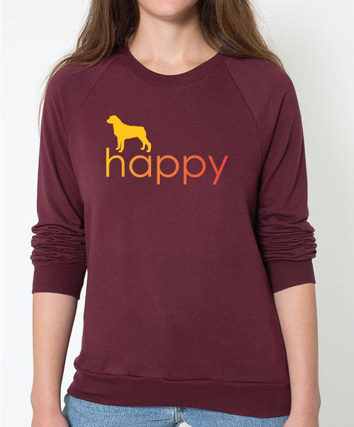 Righteous Hound - Unisex Happy Rottweiler Sweatshirt