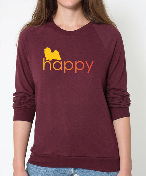 Righteous Hound - Unisex Happy Shih Tzu Sweatshirt