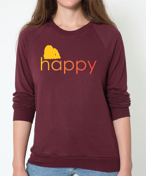 Righteous Hound - Unisex Happy Maltese Sweatshirt