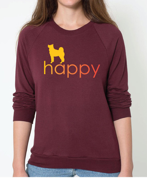Righteous Hound - Unisex Happy Akita Sweatshirt