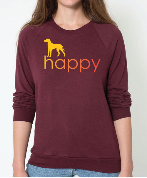 Righteous Hound - Unisex Happy Dalmatian Sweatshirt