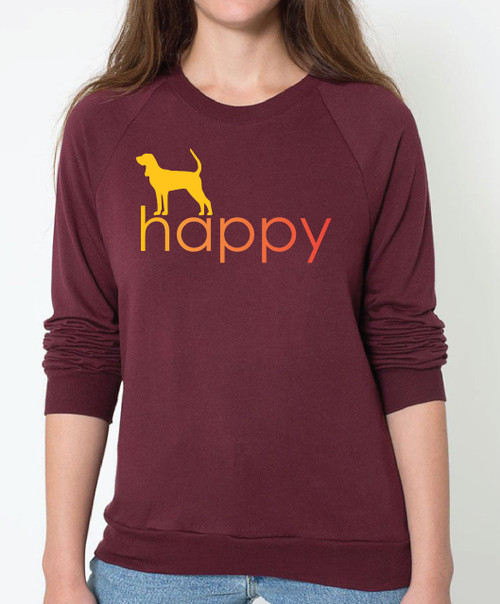 Righteous Hound - Unisex Happy Coonhound Sweatshirt
