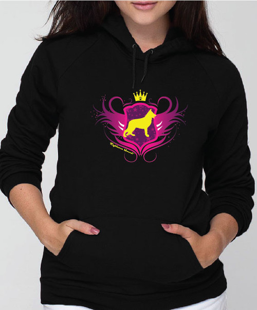 Righteous Hound - Unisex Noble German Shepherd Hoodie