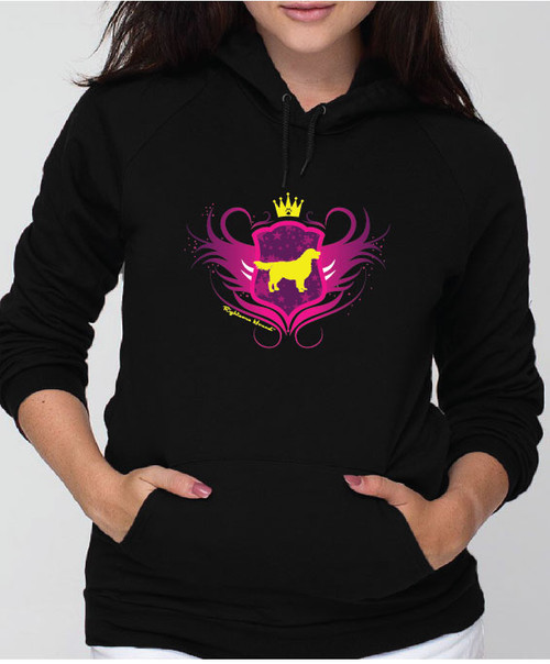 Righteous Hound - Unisex Noble Golden Retriever Hoodie