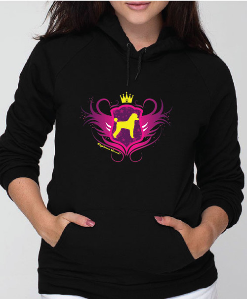 Righteous Hound - Unisex Noble Poodle Hoodie