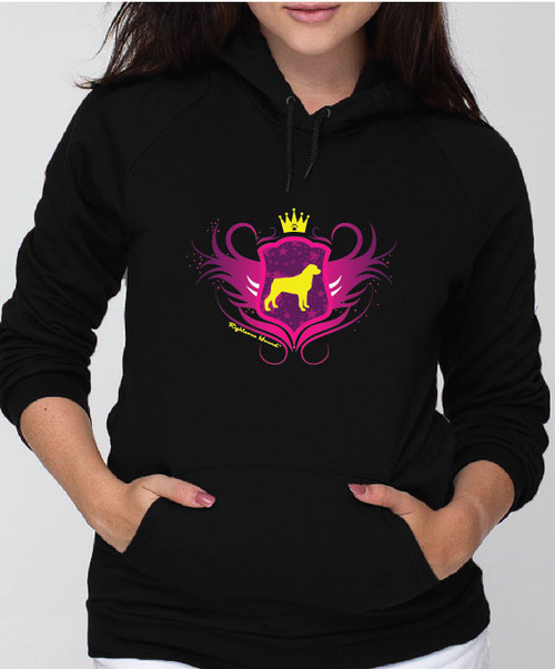 Righteous Hound - Unisex Noble Rottweiler Hoodie