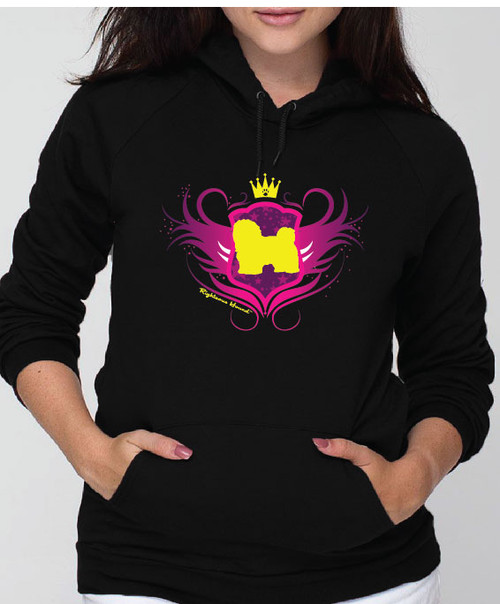 Righteous Hound - Unisex Noble Havanese Hoodie