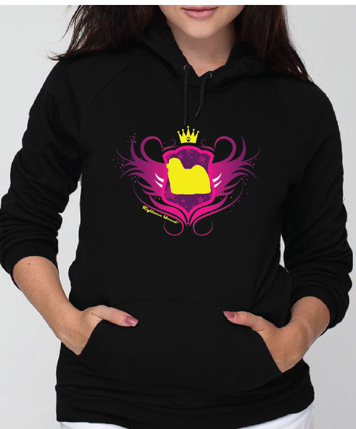 Righteous Hound - Unisex Noble Maltese Hoodie