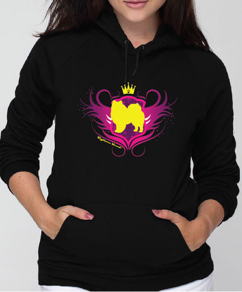Righteous Hound - Unisex Noble American Eskimo Dog Hoodie