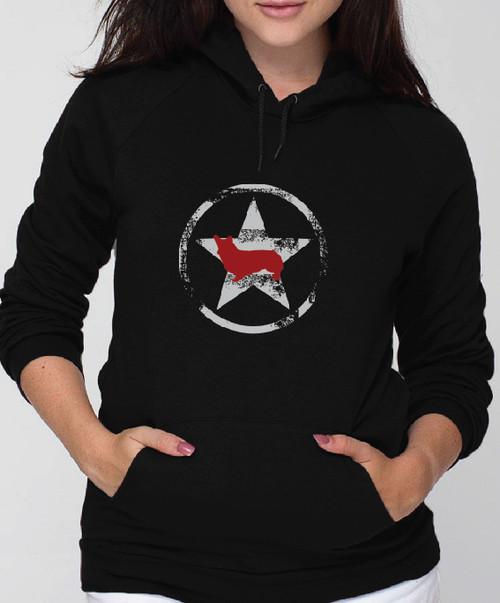 Unisex Allstar Corgi Hoodie