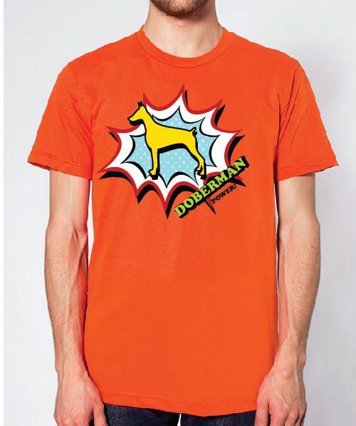 Righteous Hound - Unisex Comic Doberman T-Shirt