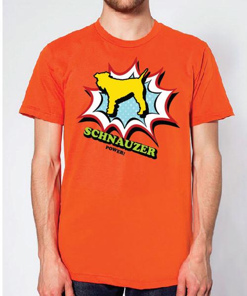 Righteous Hound - Unisex Comic Schnauzer T-Shirt