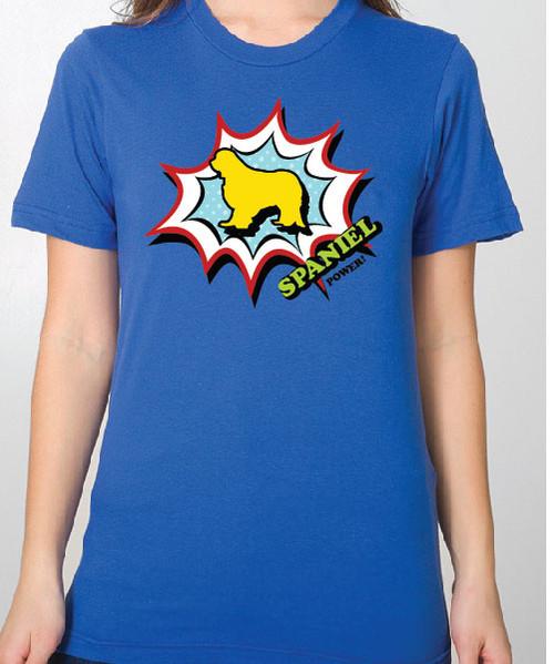 Unisex Comic Cavalier King Charles Spaniel T-Shirt