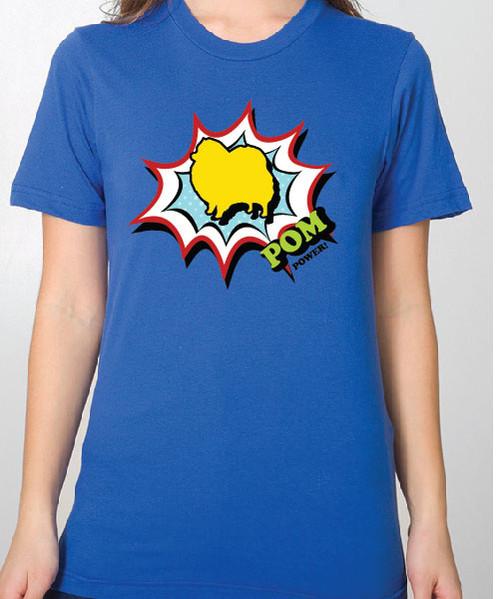 Unisex Comic Pomeranian T-Shirt