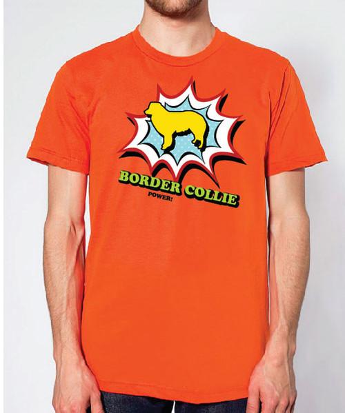 Righteous Hound - Unisex Comic Border Collie T-Shirt