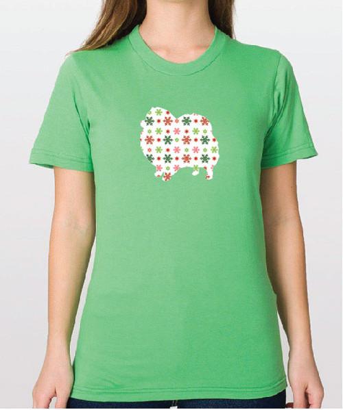 Righteous Hound - Unisex Holiday Pomeranian T-Shirt