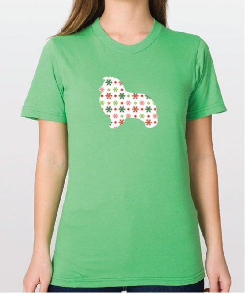 Righteous Hound - Unisex Holiday Shetland Sheepdog T-Shirt