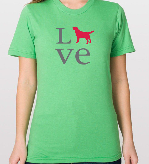 Unisex Love Lab T-Shirt - Other colors available