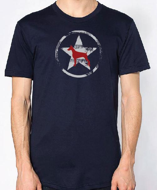 Righteous Hound - Unisex AllStar Doberman T-Shirt