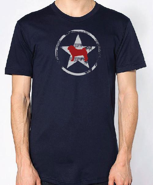 Righteous Hound - Unisex AllStar Pug T-Shirt