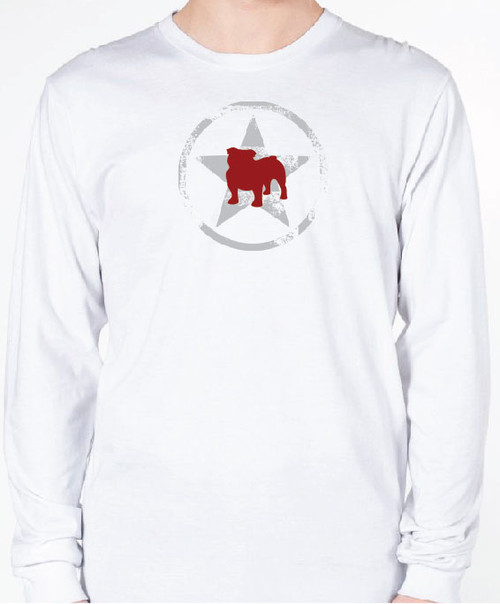Unisex AllStar Bulldog Long Sleeve T-Shirt
