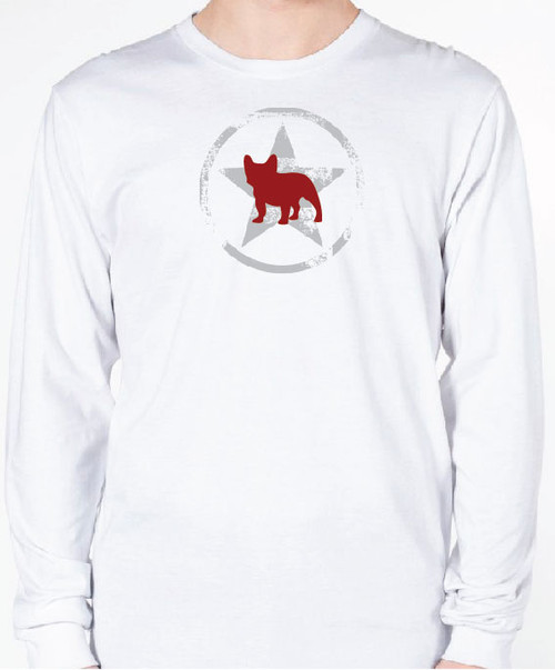 Unisex AllStar French Bulldog Long Sleeve T-Shirt