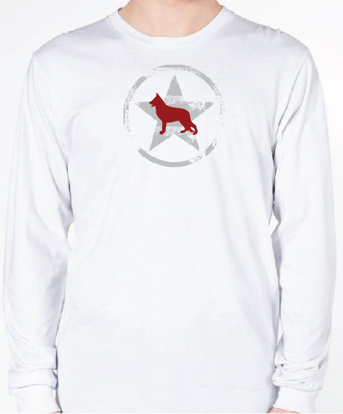 Unisex AllStar German Shepherd Long Sleeve T-Shirt
