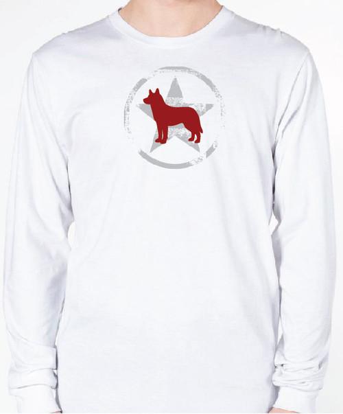 Unisex AllStar Husky Long Sleeve T-Shirt