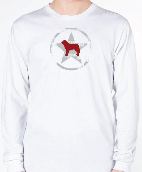 Unisex AllStar Saint Bernard Long Sleeve T-Shirt