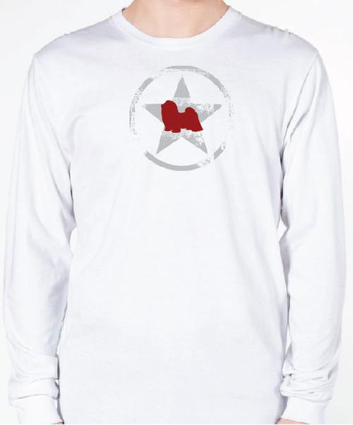 Unisex AllStar Shih Tzu Long Sleeve T-Shirt