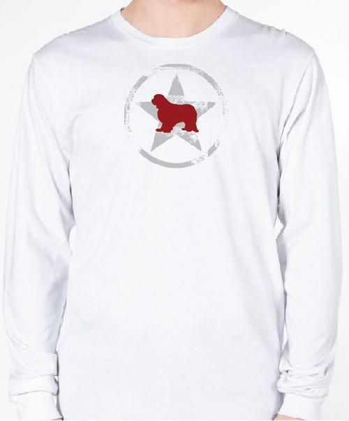 Unisex AllStar Cavalier King Charles Spaniel Long Sleeve T-Shirt