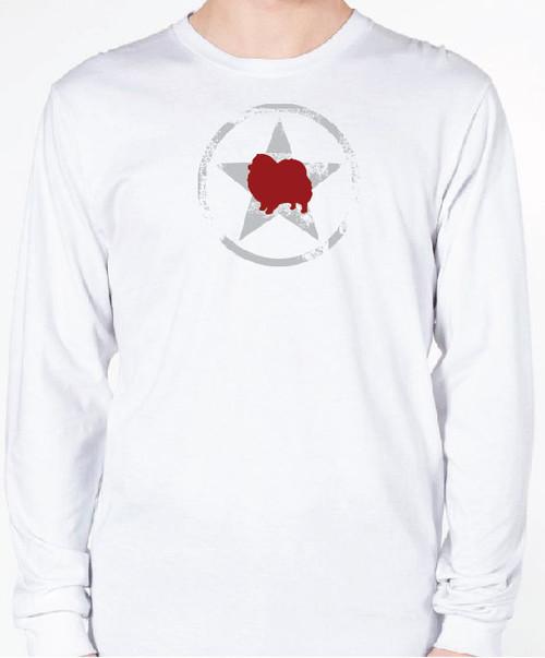 Unisex AllStar Pomeranian Long Sleeve T-Shirt