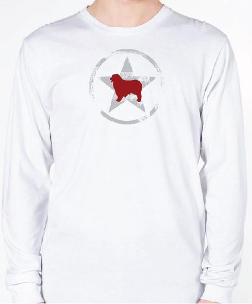 Unisex AllStar Australian Shepherd Long Sleeve T-Shirt
